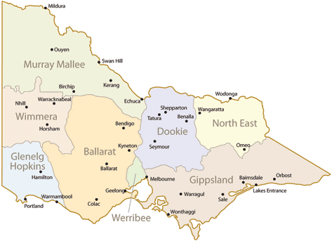 Abortion Melbourne, VIC - Map