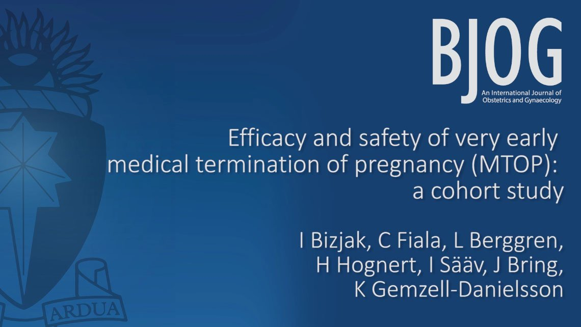 Safety and efficacy of Medical Abortion